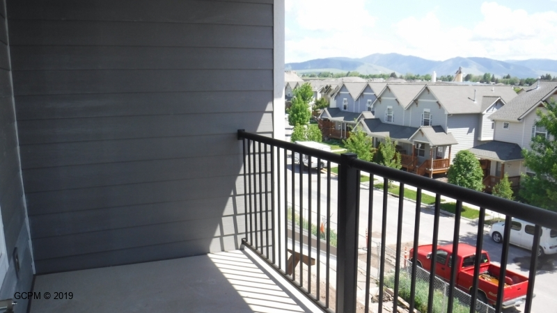 60 sg Ft Patio over looking Missoula.