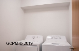 Each unit includes a washer and dryer